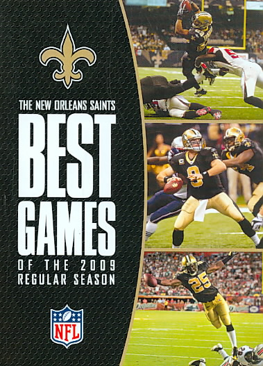 NFL NEW ORLEANS SAINTS BEST GAMES OF (DVD) [3 DISCS]